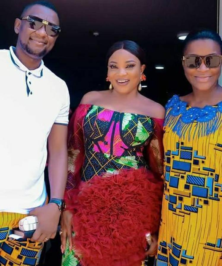 Actress Gift Ibiwari Can't Stop Thanking Chacha Eke After She This For Her- Photos