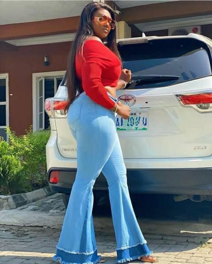 See The Budding Nollywood Actress Whose Curves Will Be The Envy Of Destiny Etiko