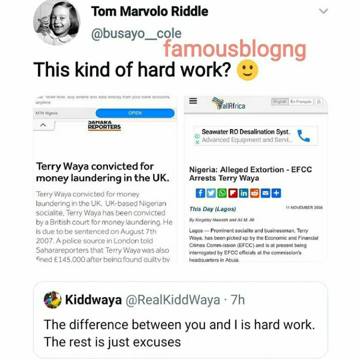Nigerians dogged out Kiddwaya's Dad conviction publication after making claims of working hard