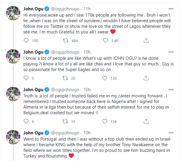 """A Lot Of People Failed Me, Pray For Me"" – John Ogu Cries Out For Help"