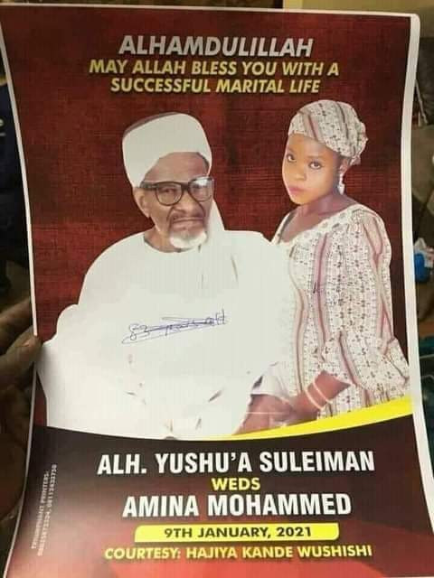 83-Year-Old Nigerian Muslim Man Set To Tie Knot With 16-Year-Old Girl