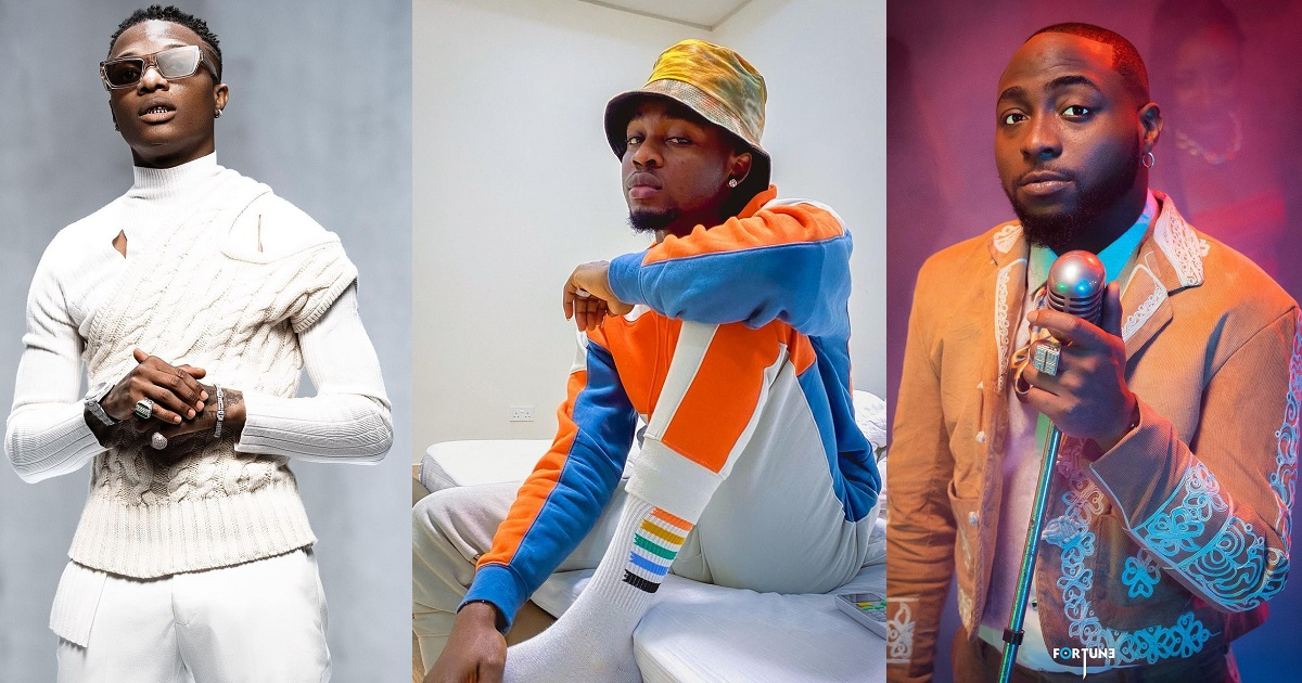 "Davido Should've Left You To Suffer In Uganda"" – Omah Lay Dragged For Praising  Burna Boy, Wizkid"