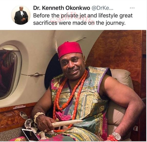 """Before The Private Jet And Lifestyle Great Sacrifices Were Made"""" – Actor, Kenneth Okonkwo"""