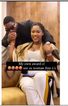 'Someone Check On Alex' – Nigerians React As BBNaija Tobi Bakre Shows Off His Pregnant Girlfriend (Photos)