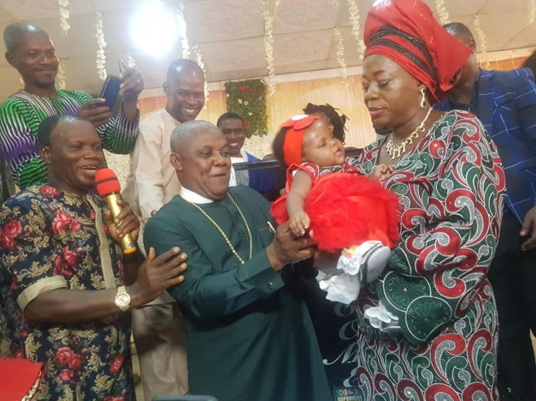 After 25 Years, Nigerian Pastor And Wife Welcome First Child
