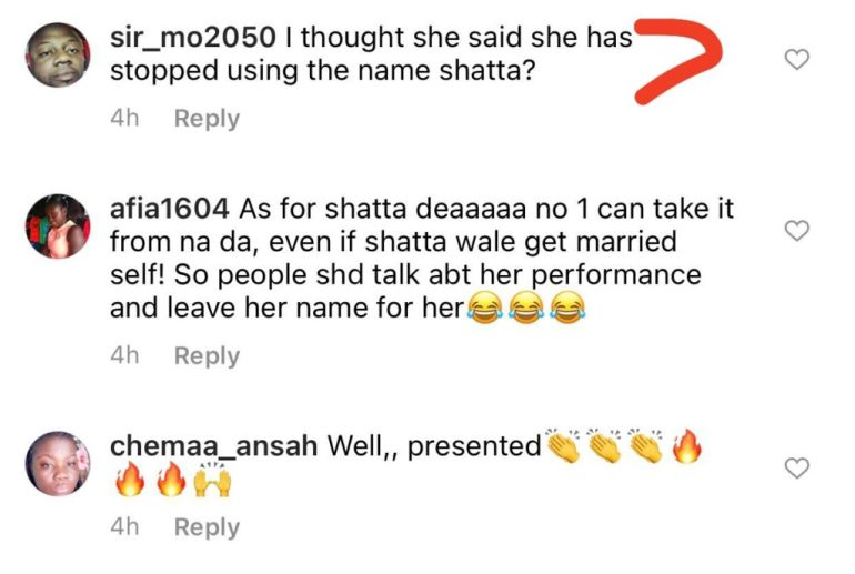 """158914289 440499023933120 7553085983643016975 n 1024x688 - Fans drag Michy For Calling Herself """"Shatta Michy"""" On Live TV"""