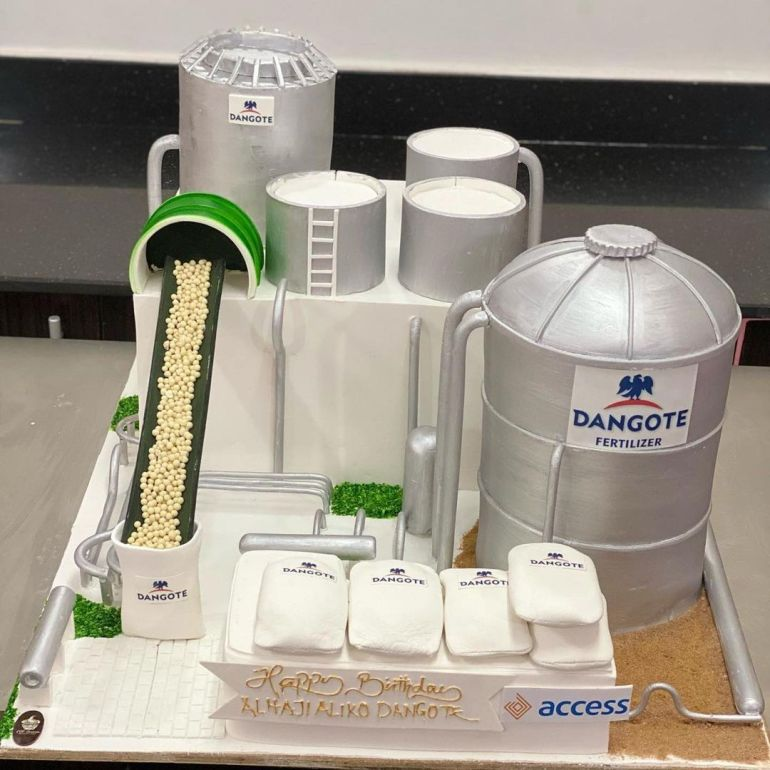 Dangote Birthday Cake photo