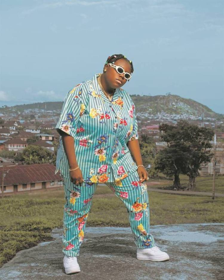 Teni Reveals What Wizkid Did to Her When They Met For The First Time