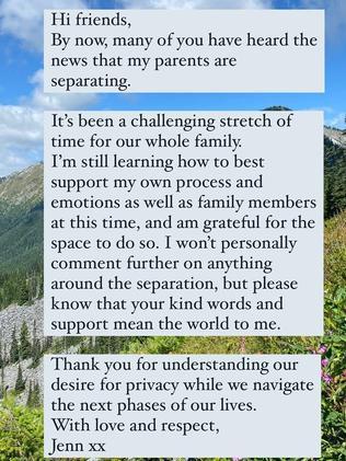 Jennifer Gates Reacts To Divorce Of Her Billionaire Parents