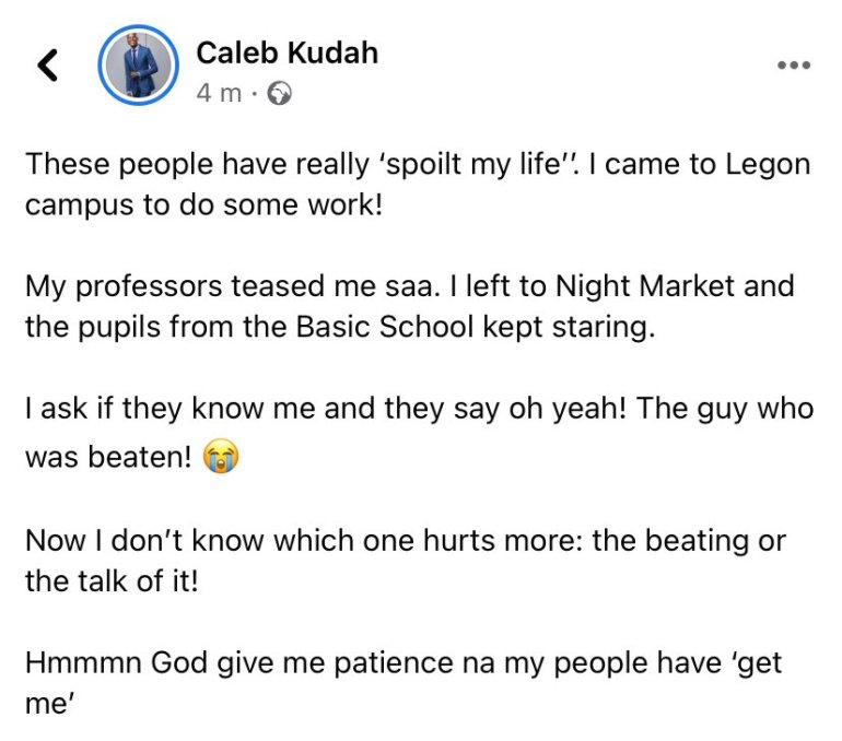 Citi TV's Caleb Kudah Shares His Life Experience After The Alleged Police Assault