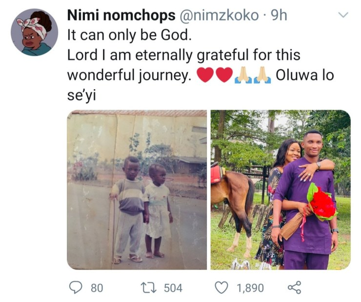 Lady Who Often Claims She Hates Men Finally Gets Engaged