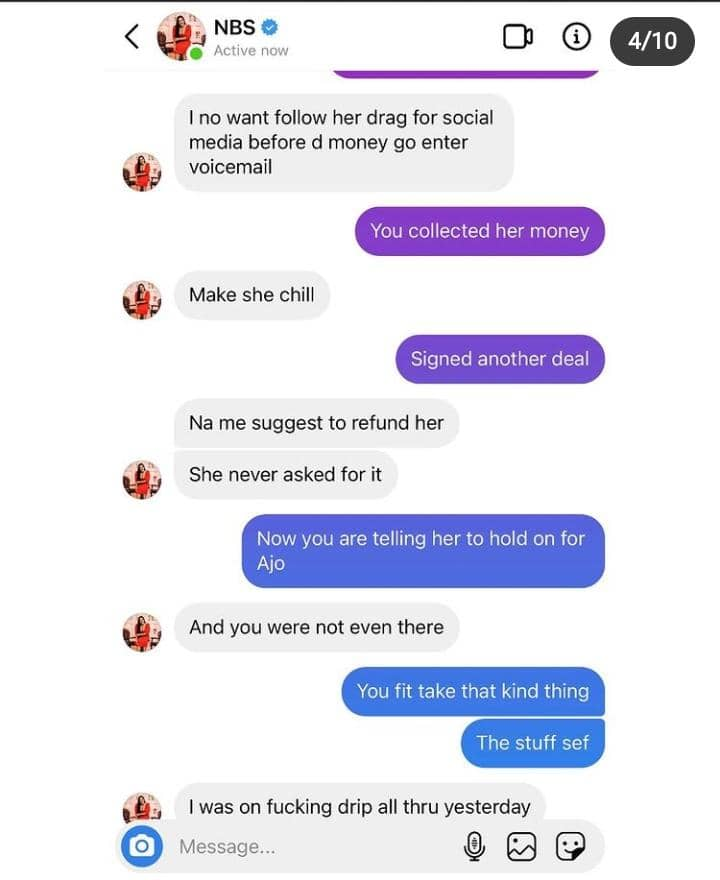 Nkechi Blessing Accused Of Scamming People All In The Name Of Influencing