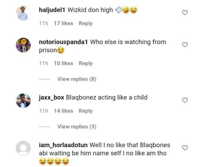 """""""He Don High"""" – Fans React As Wizkid Staggers Whilst Hanging Out With Blaqbonez In Ghana"""