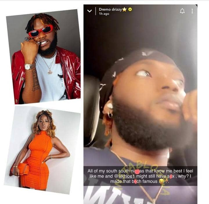 Singer Dremo Reveals Why He's Going To Sleep With His Bestie Khloe