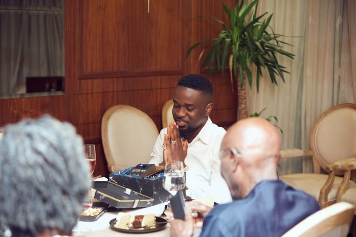 Photos Of Sarkodie's Plush Birthday Party With His Rich Friends