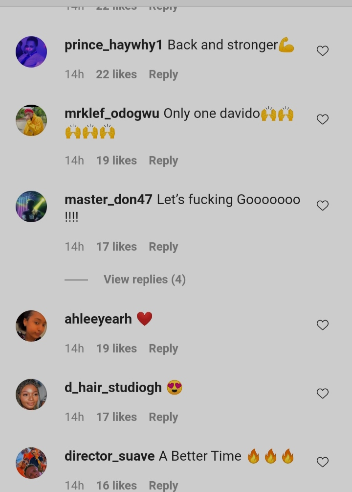 """""""Back And Stronger"""" – Fans React As Davido Releases New Music Video Ft Chris Brown And Young Thug"""