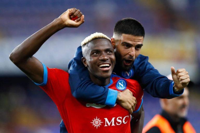 Nigeria's Victor Osimhen Scores Twice, Sends Napoli Top Of Serie A