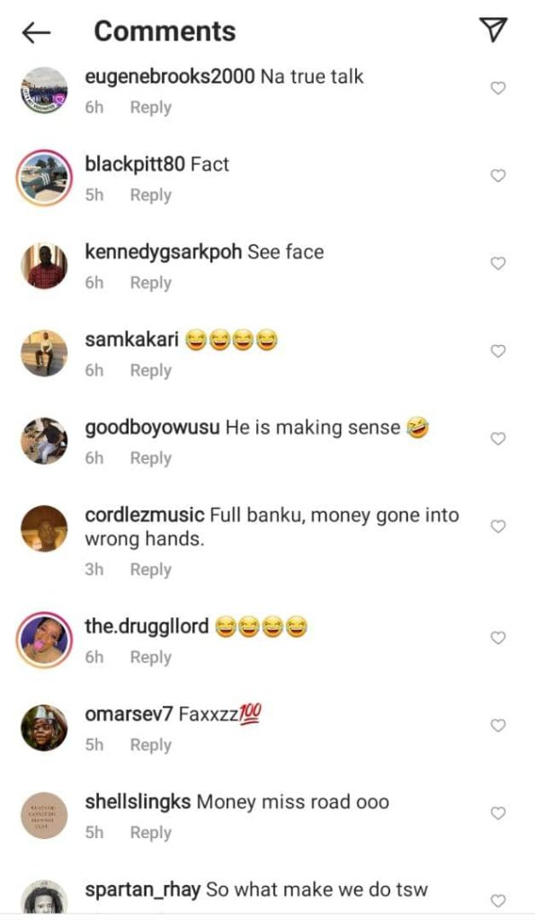 Reaction As Shatta Bundle Claims If Someone Chop Your Girlfriend Because Of Money, It's Not Cheating