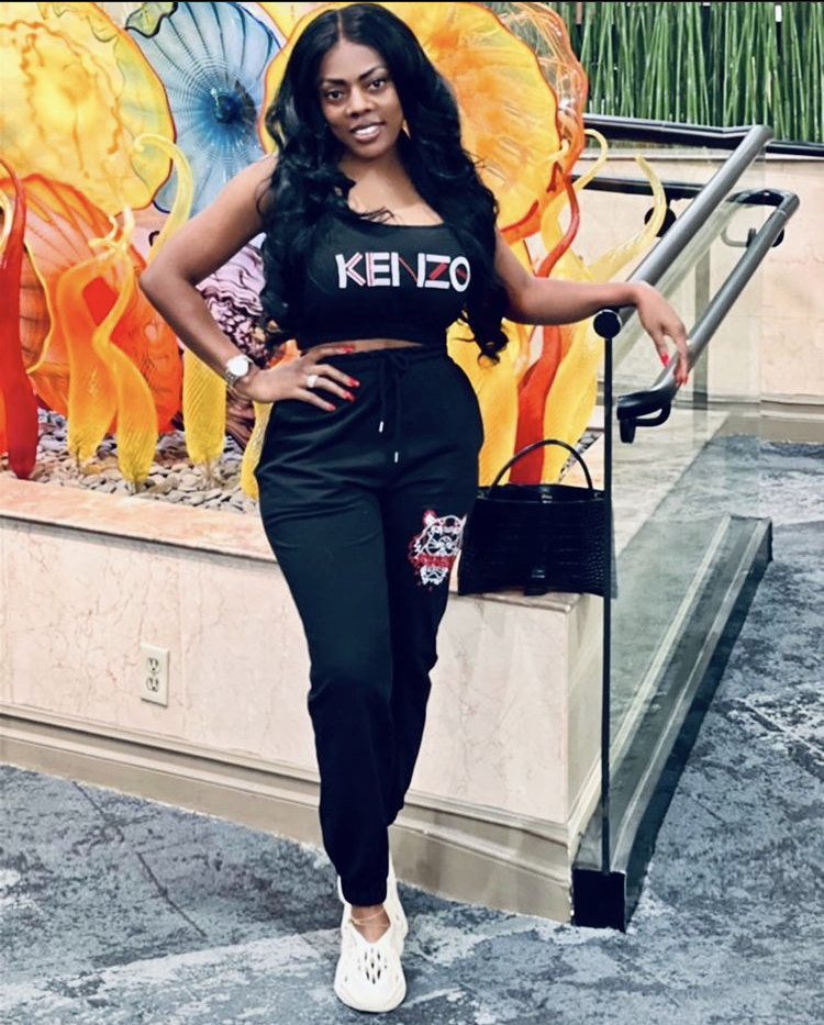 Nana Aba Anamoah Ignores Adu Safowaa's Tantrums As She Looks Chic In New Photos
