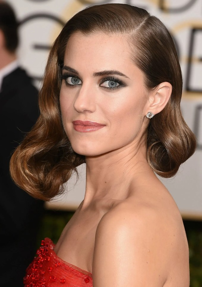 golden globes hair and makeup looks 2015 | glamour