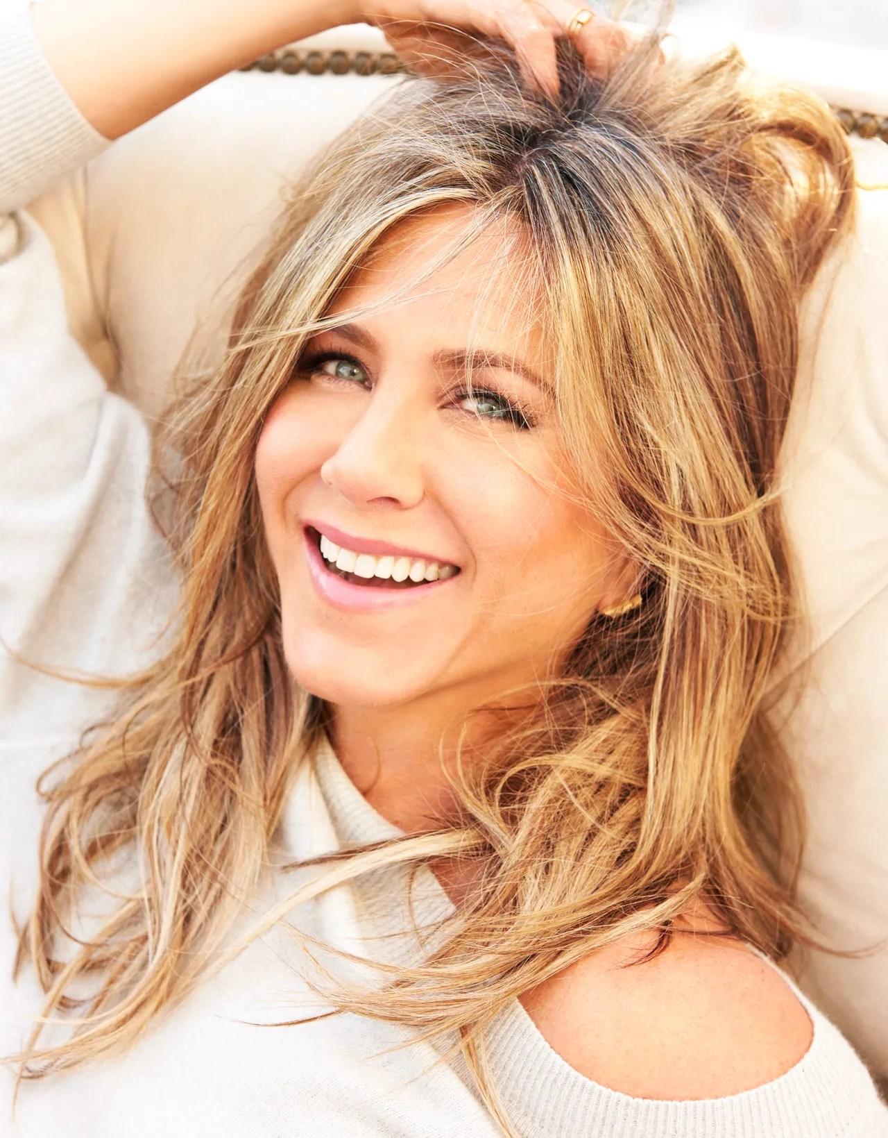 Jennifer Aniston Talks Hair Skin and Beauty Routine