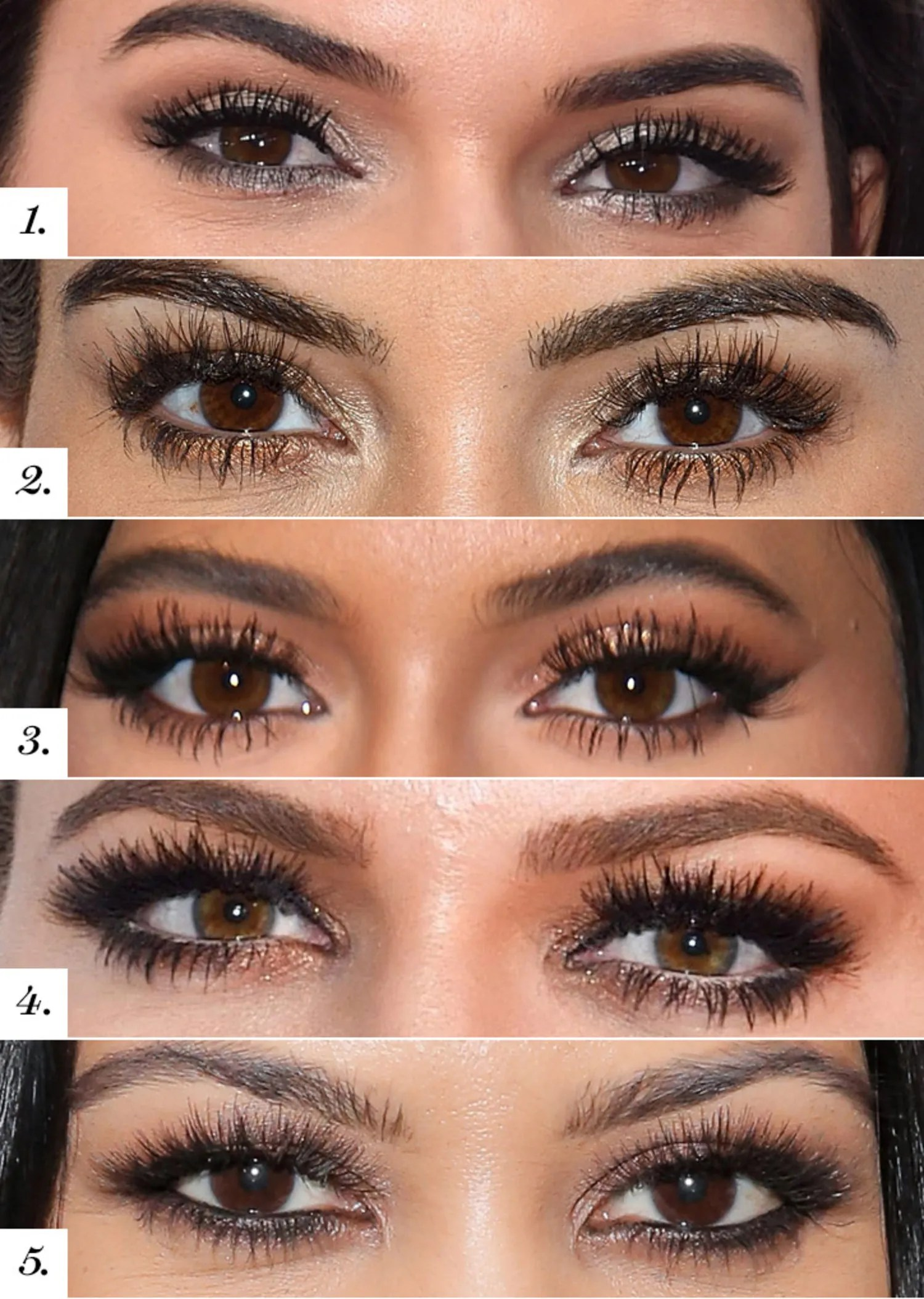 Guess The Kardashian Jenner Smoky Eyes