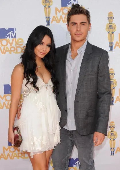 Image result for Zac Efron and Vanessa Hudgens