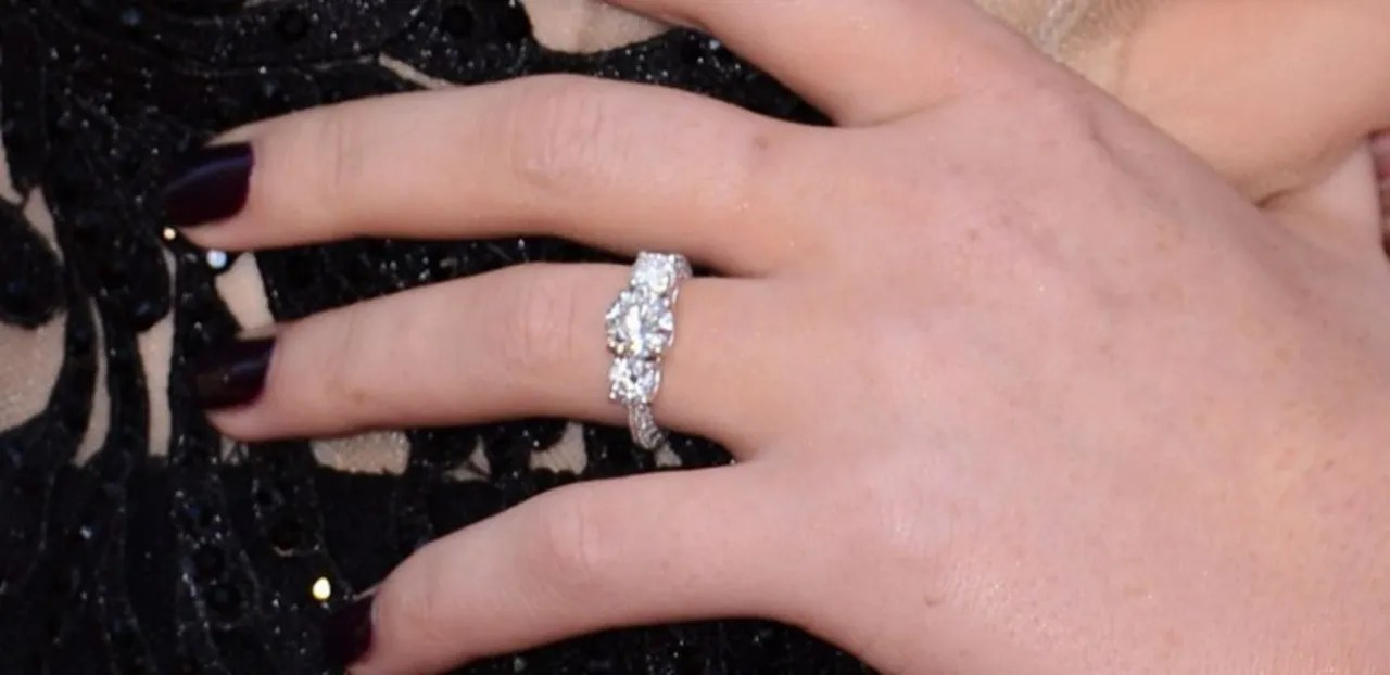 Perrie Edwards Engagement Ring 5 Rings Inspired By The
