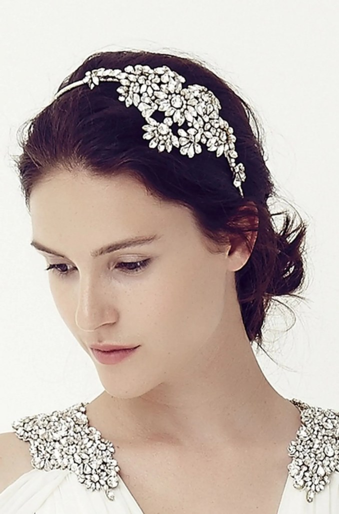 best wedding hair accessories: jenny packham bridal hair