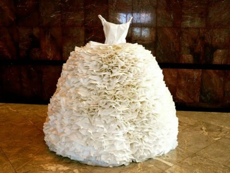 You Obviously Won t Wear a Toilet Paper Wedding Dress   but These     You Obviously Won t Wear a Toilet Paper Wedding Dress   but These Beauties  Will Make You Seriously Reconsider   Glamour