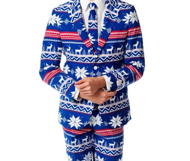 Shinesty Ugly Christmas Sweater Suit Rudolph