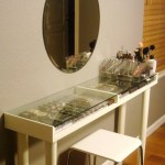 5 Genius Diy Makeup Vanity Ideas That Ll Change Your Life Yes Your Entire Life Glamour