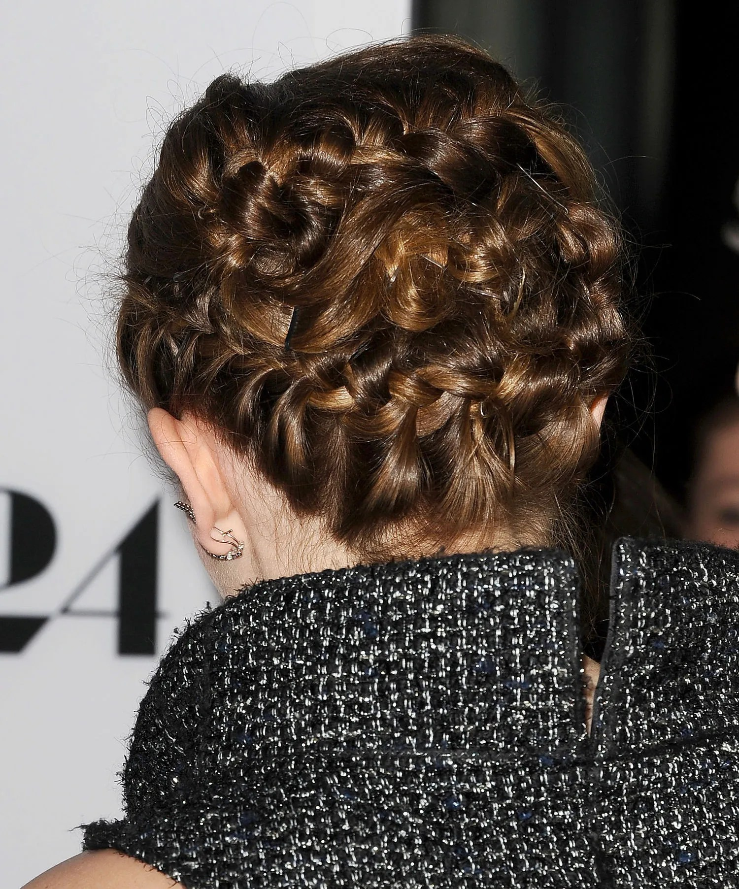 Emma Watson Wore A Braided Updo Last Night That Will Make