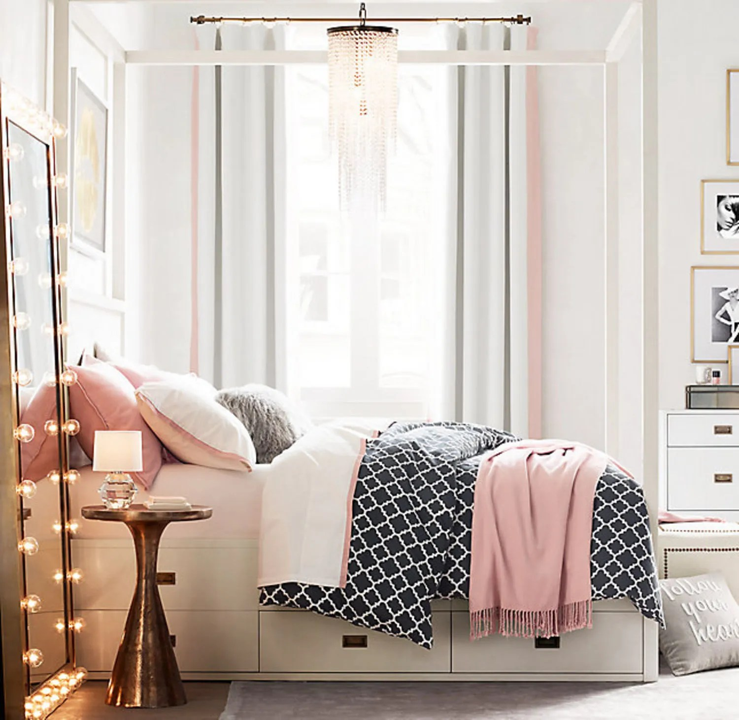 13 Things Your Tiny Apartment Needs From Restoration ... on Small Bedroom Ideas For Teens  id=51251