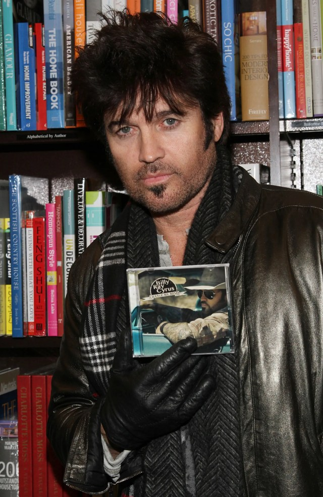sothis is what billy ray cyrus is doing with his hair now