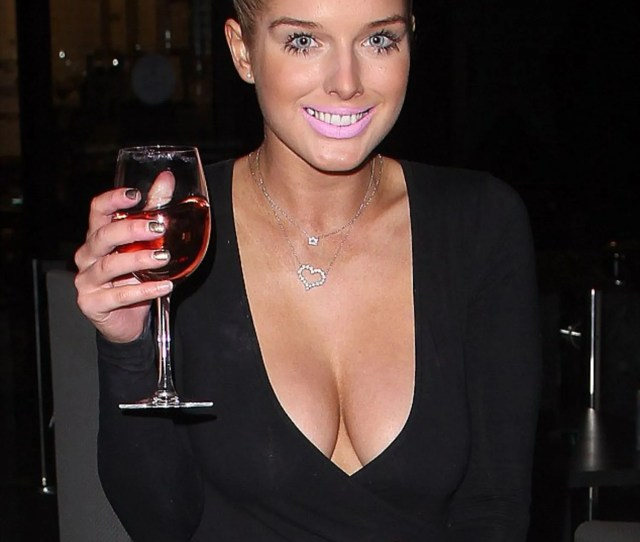 Helen Flanagan Makes A Very Convincing Case For The 1 Beauty Rule Pick One Glamour