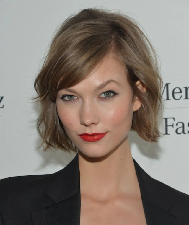 karlie kloss cried when she got her new haircut: can you