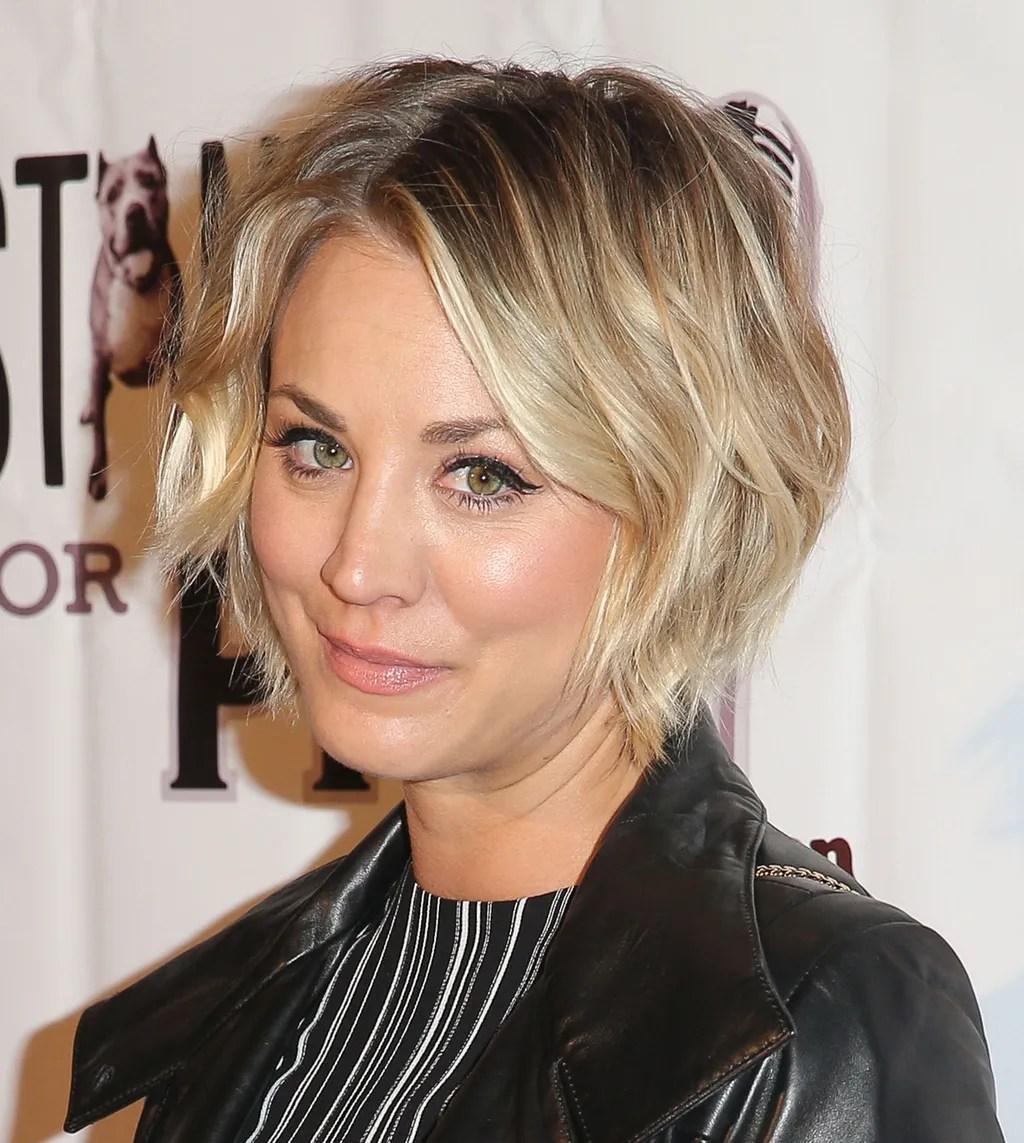 How Kaley Cuoco Bypassed The Awkward Stages In Growing Out