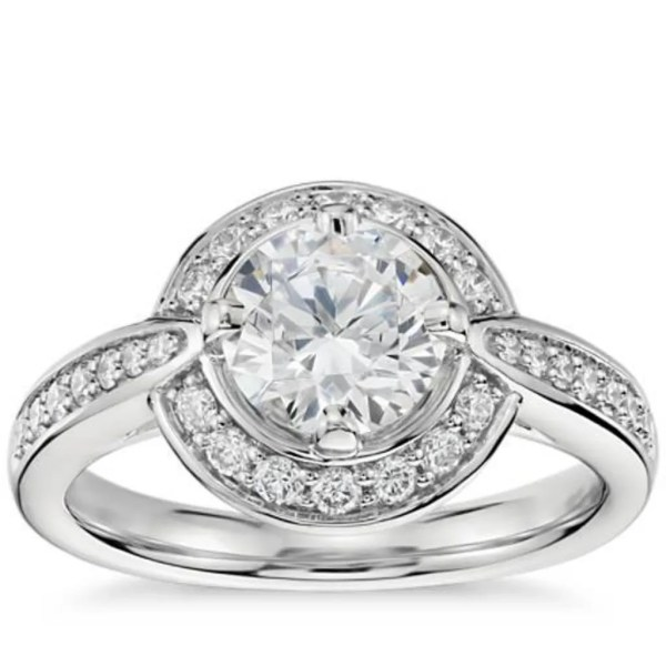 Best Halo Engagement Rings: Colin Cowie Diamond Engagement ...