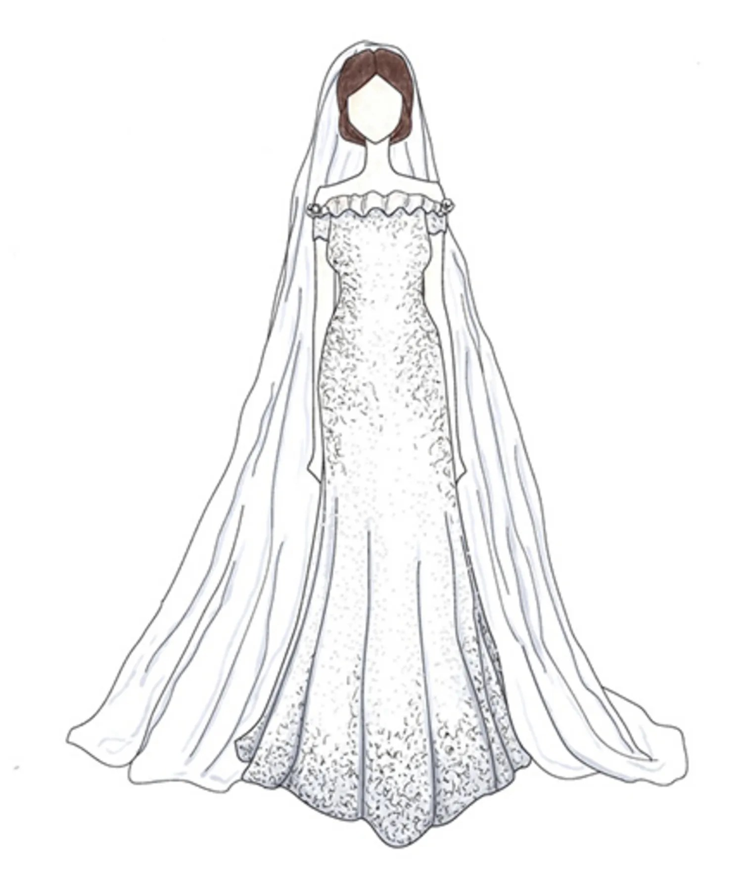 b57f4d06db07 Celebrity Wedding Dresses 44 Of The Most Unforgettable Wedding Dresses Of  All Time