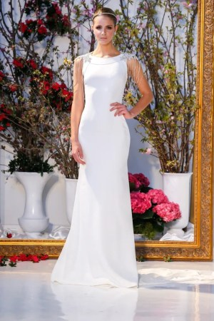 44 Brand New Wedding Dresses That 2017 Brides Need to See   Glamour  Anne Barge  http   www annebarge com