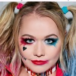 Harley Quinn Makeup Tutorial In 7 Easy Steps Glamour