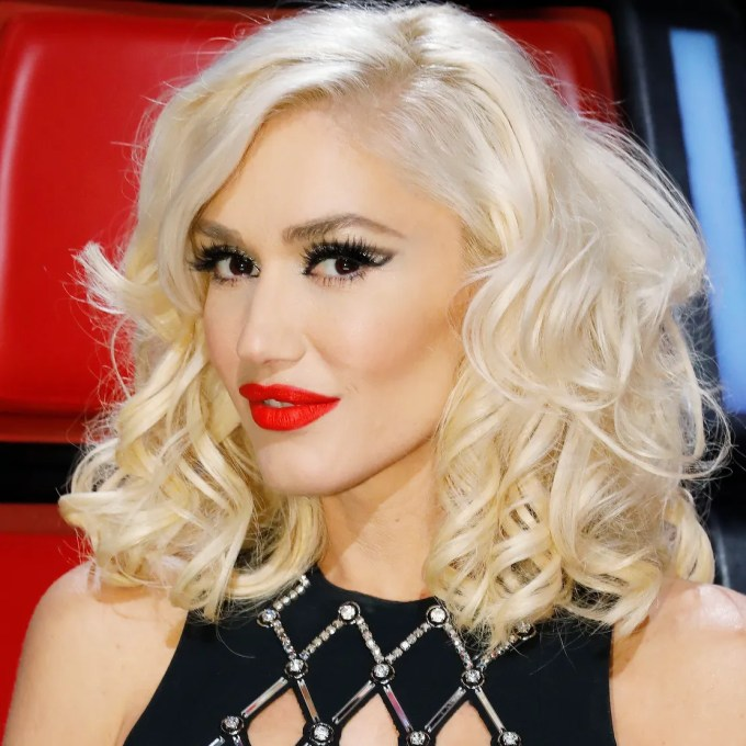 gwen stefani's new bangs are just as good as you'd expect