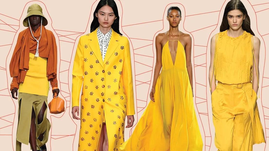 Marigold Colored Fashion Trends-Telugu Fashion News