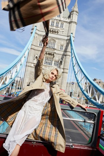 4beb9ac2eb0 Listen to Cara Delevingne Sing About London for Her New Burberry Fragrance  Ad