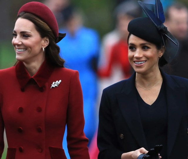 Theres A Doc About Meghan Markle And Kate Middletons Feud And We Learned A Lot Glamour