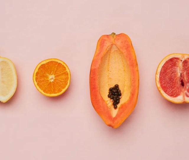 Lemon Orange Papaya Grapefruit