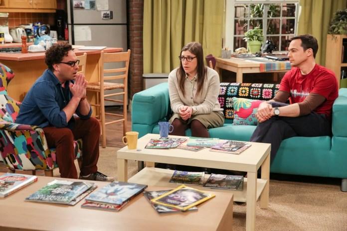 Leonard Amy and Sheldon talk about Beverly