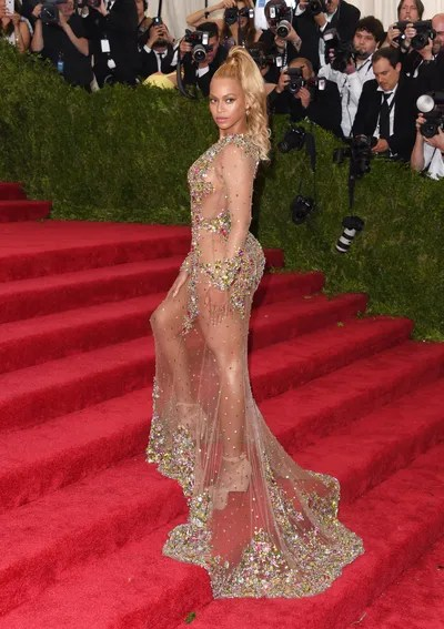 Recording artist Beyonce Knowles attends the 'China Through The Looking Glass' Costume Institute Benefit Gala at the...