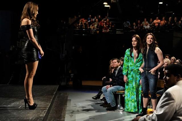 Jennifer Lopez Bill Hader and Jason Sudeikis on the set of Saturday Night Live. Bill Hader is wearing Jennifer Lopez's...